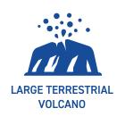 陸上大型火山の時代