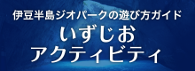 伊豆ジオ半島ジオパークの遊び方ガイド いずじおアクティビティ