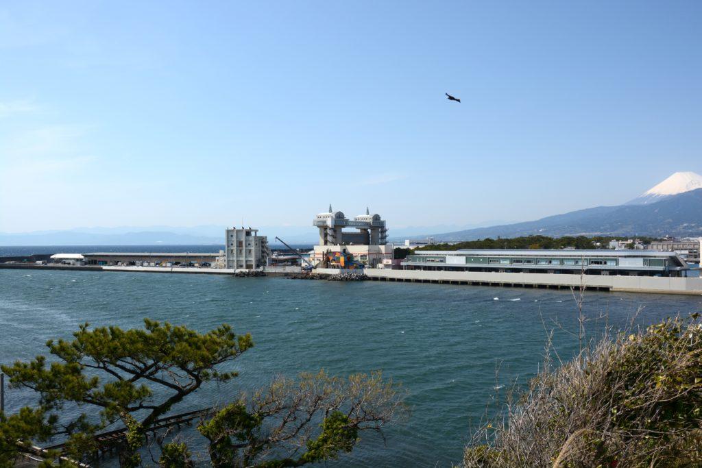 対岸の沼津港を望む CC-BY
