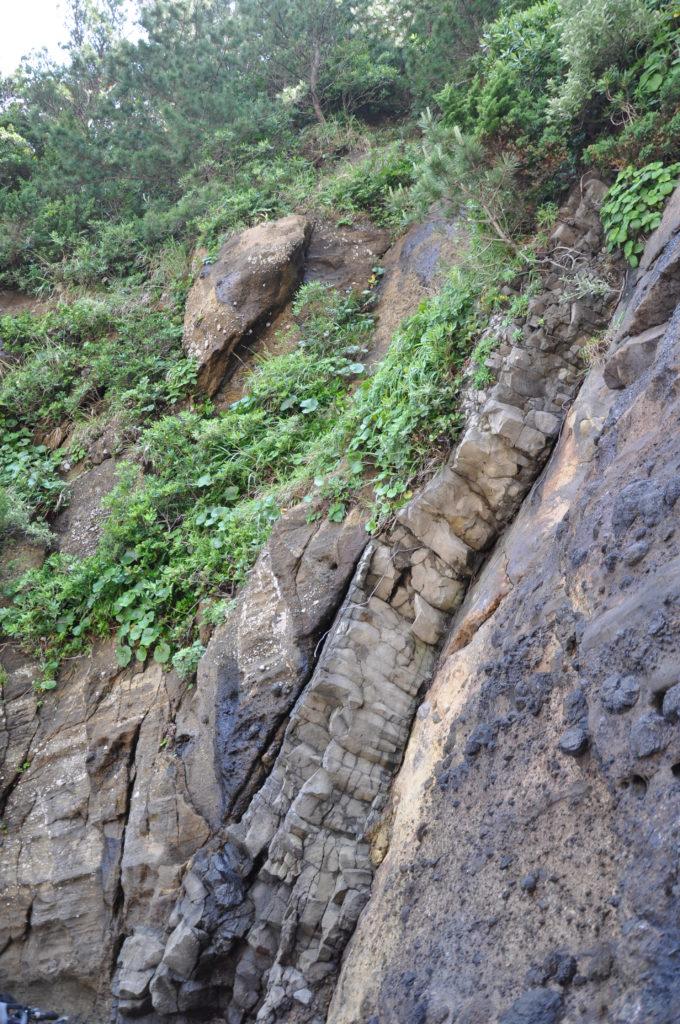 岩脈 CC BY