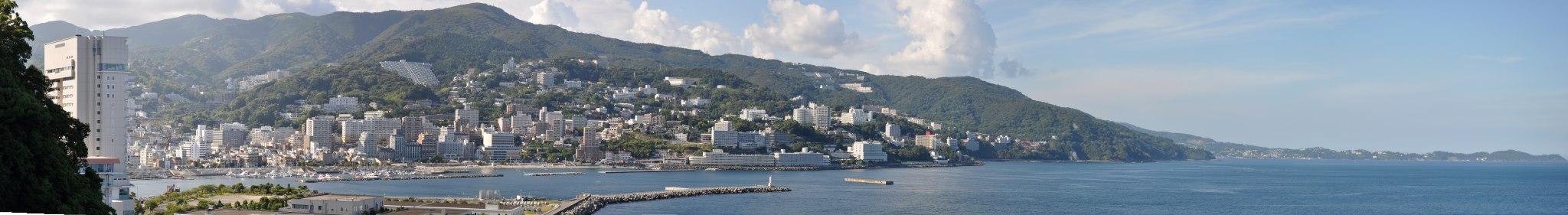 熱海市街 遠景