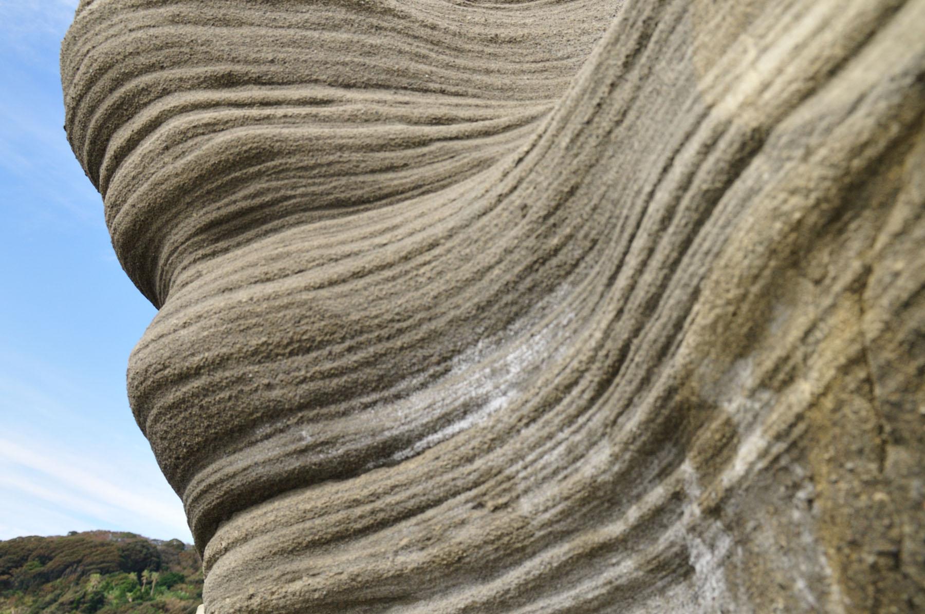 恵比須島の凝灰岩層 CC BY-SA
