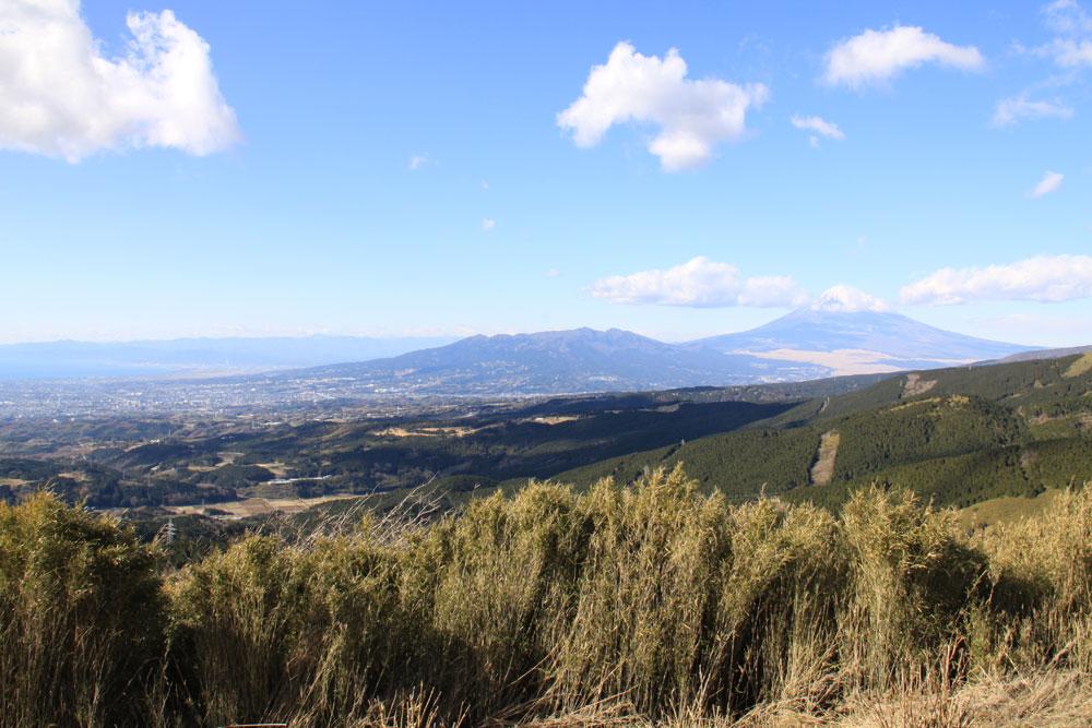 十国峠 富士山を望む