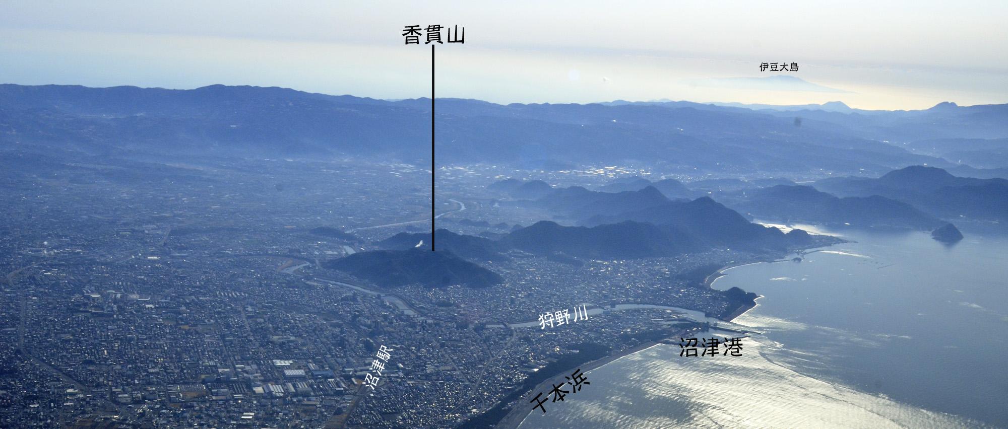 香貫山展望台