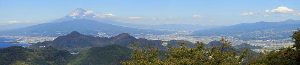 葛城山からの眺め CC BY