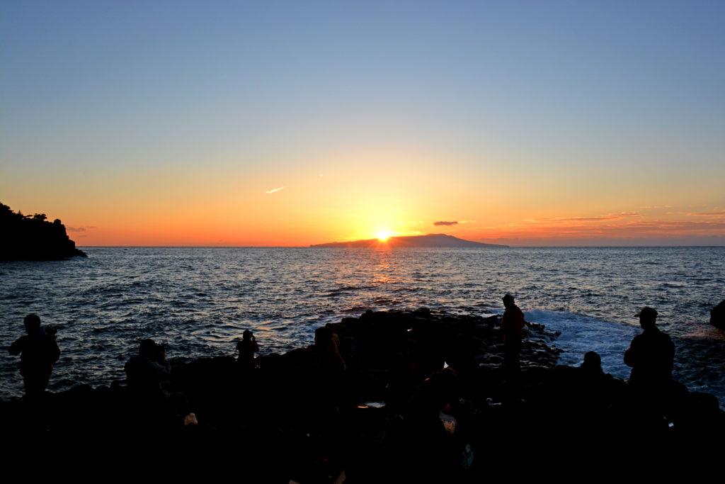 大淀・小淀からの日の出