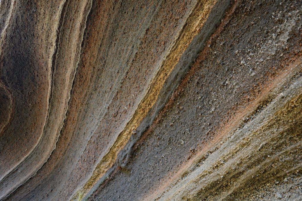 鉢ノ山のスコリア層