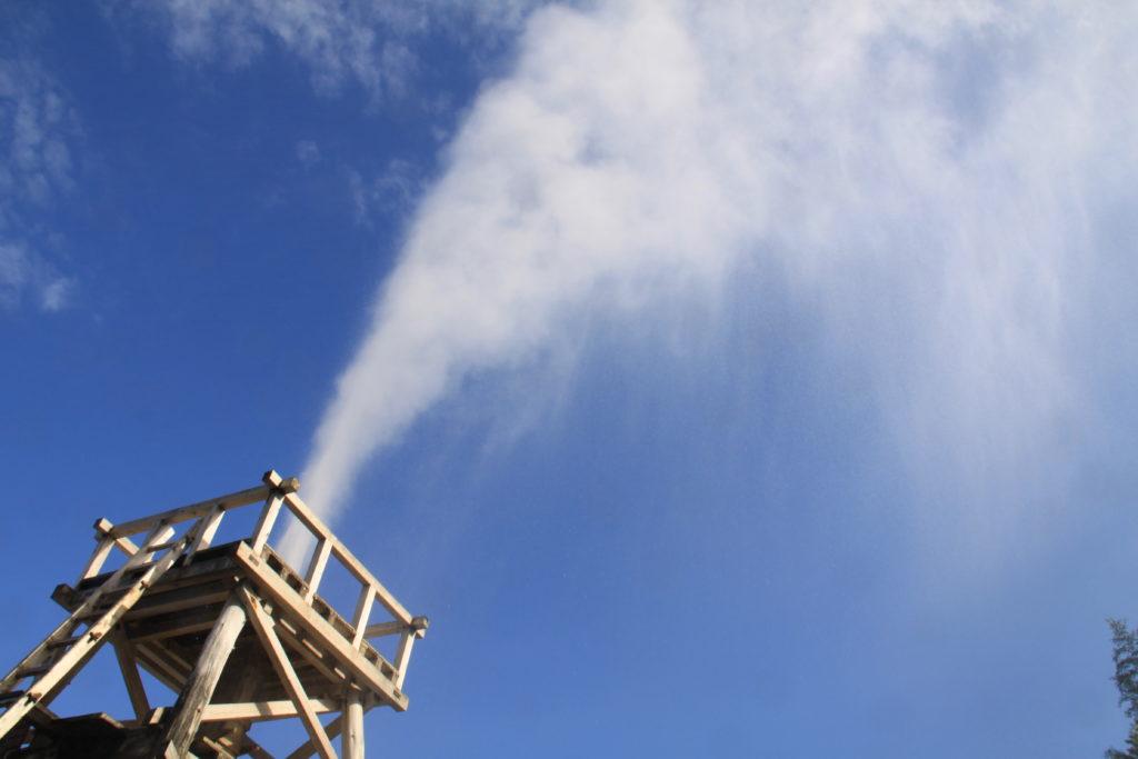 峰温泉大噴湯
