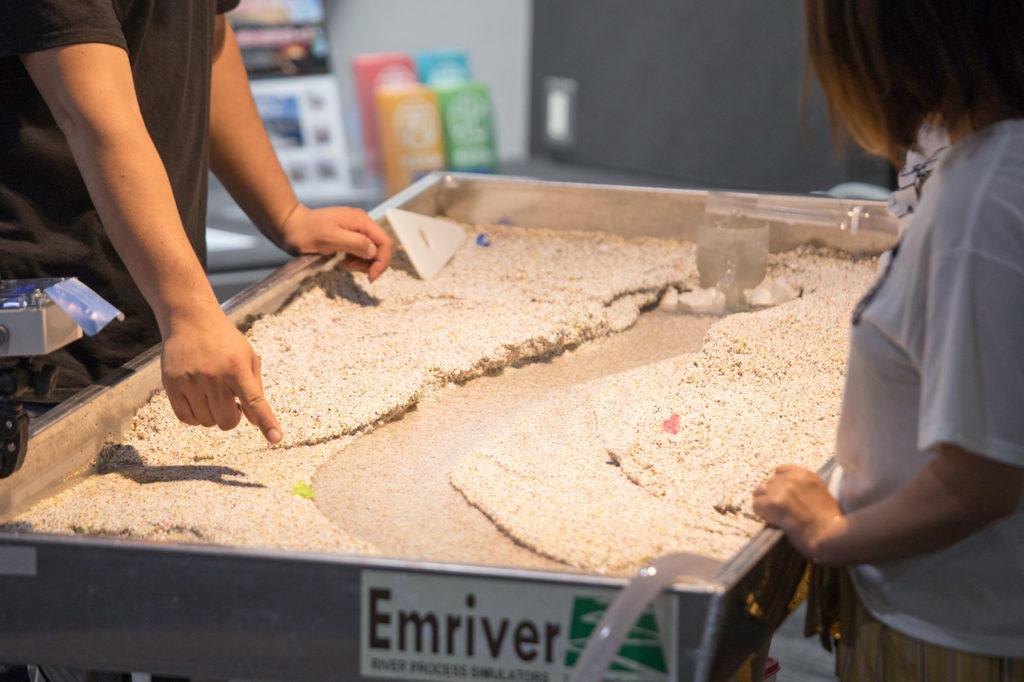 ジオリア 河川模型
