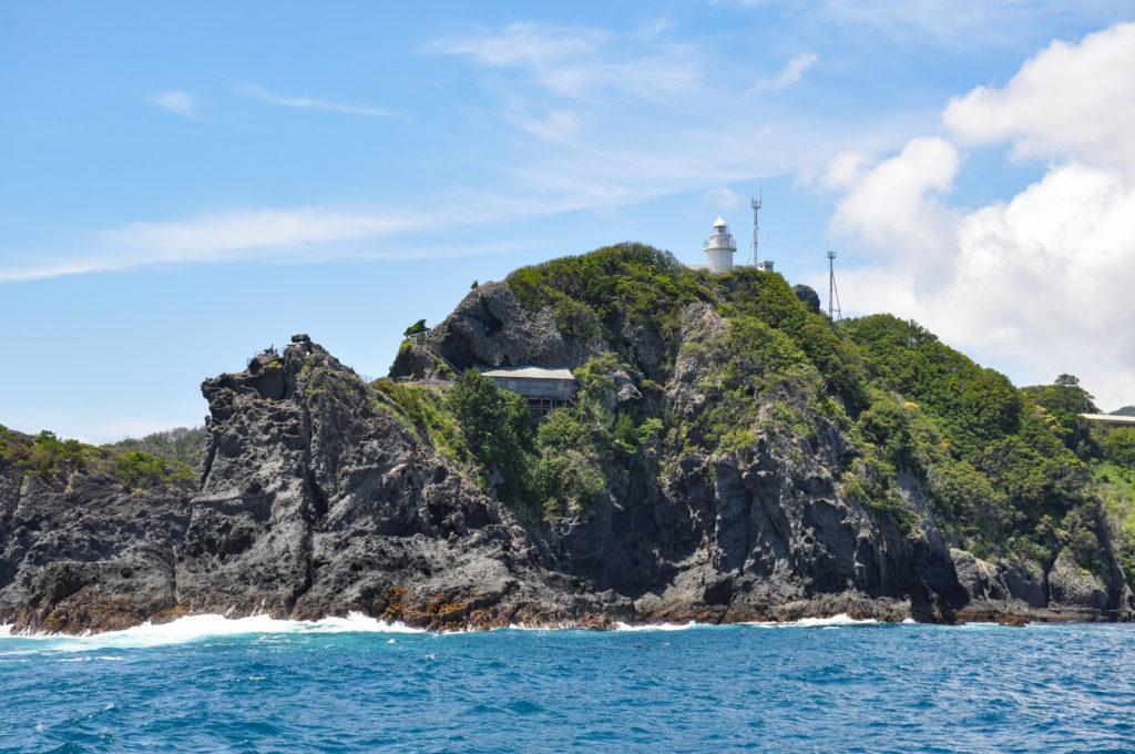 遊覧船から見る石廊崎